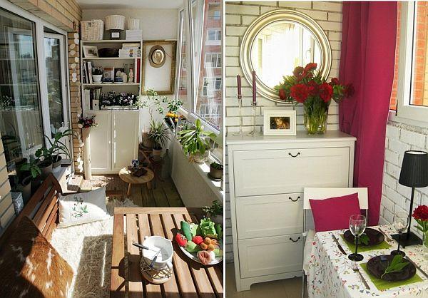 Летняя кухня на балконе..