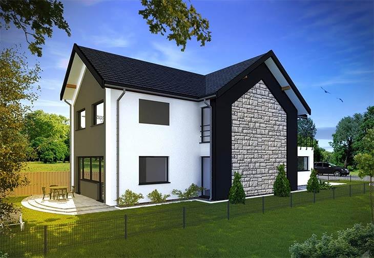 Проектируем частный дом. Какие окна выбрать под каждый фасад