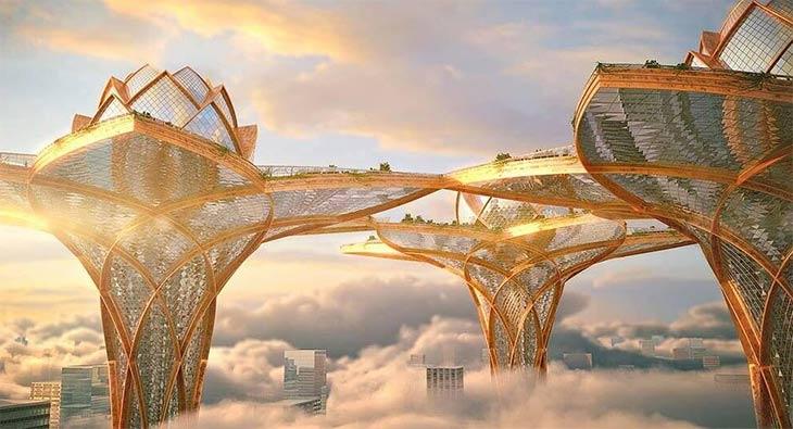 Небоскребы из стекла и дерева. Какими будут города будущего?