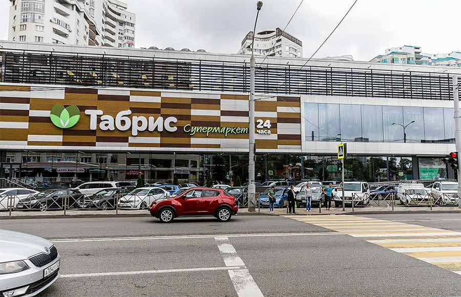 Современный подход к остеклению торговых центров