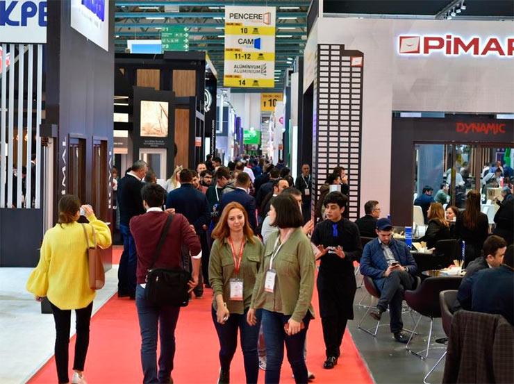 Выставка окон, Выставка стекла, Выставка дверей. 4-7 марта 2020 г. Стамбуле, Турция